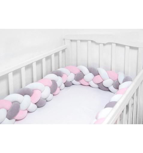 Плетёный Бортик в Кроватку ColorMix7