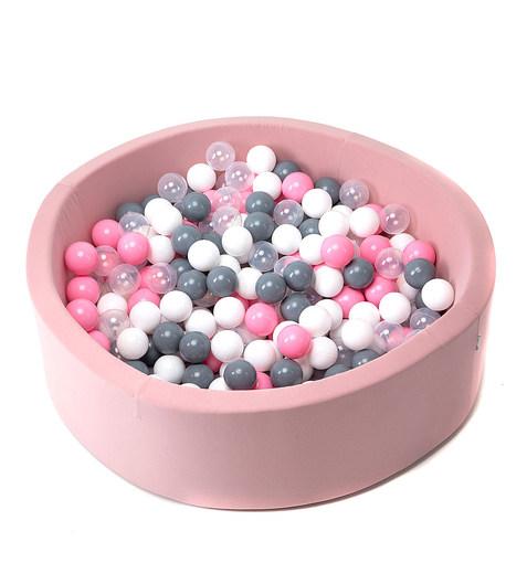 """Сухой Бассейн """"Pink Bubble"""" 100см"""