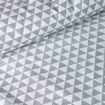 Бязь Треугольники Серые
