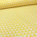 Бязь Треугольники Желтые