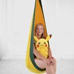 Качель-Кресло-Мешок для Детей YellowDarkGreen