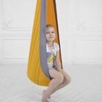 Качели-Кресло-Мешок для Детей YellowGrey