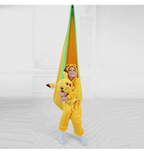 Качель-Кресло-Мешок для Детей YellowGreen