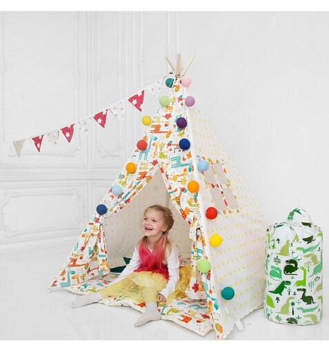 """Комплект Вигвама для детей """"Жирафио"""""""