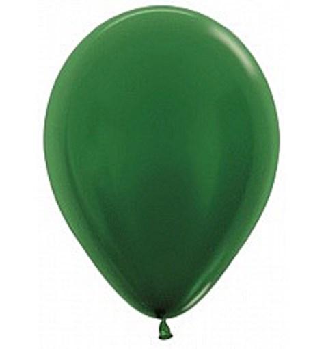 "Шар ""Металлик"" зеленый 30см"
