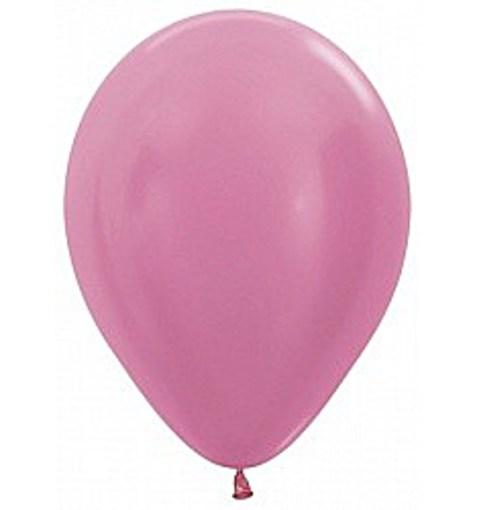 """Шар """"Перламутр"""" розовый 30см"""