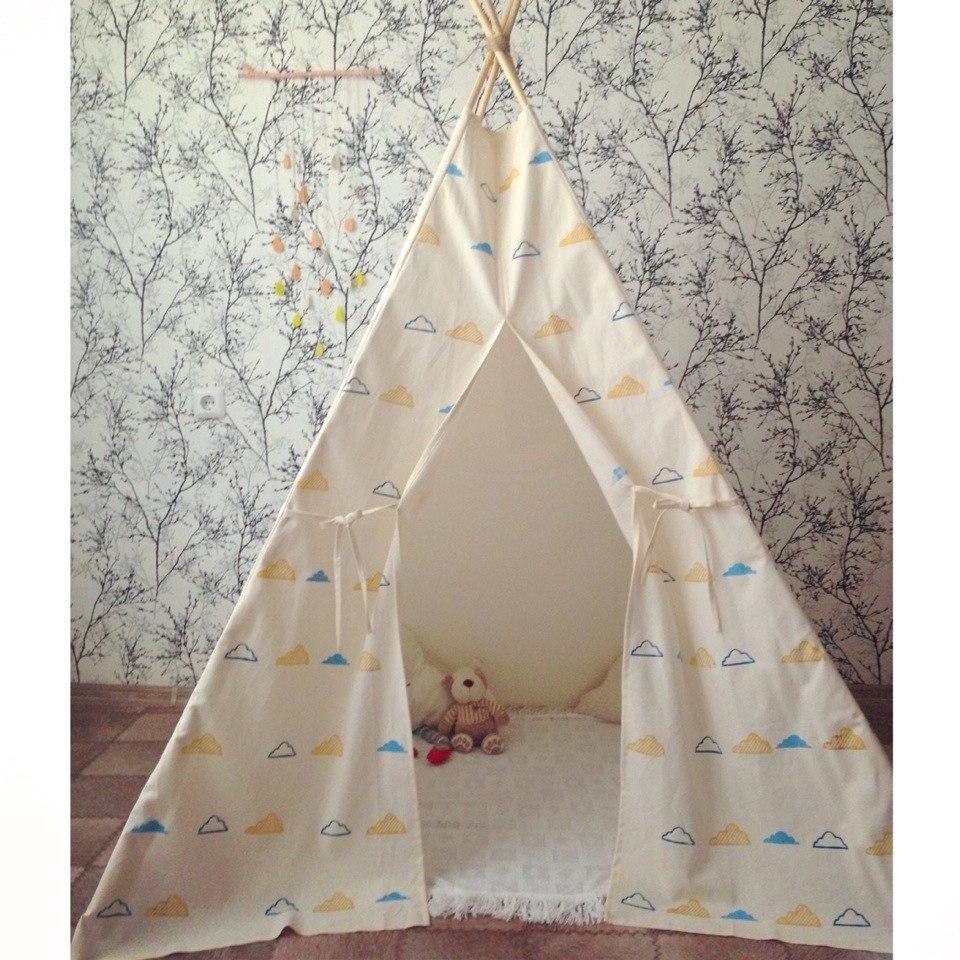 Вигвамы для детей. Игровые палатки